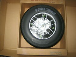 Really Cool Man Cave Mechanical Looking Race Team Clock