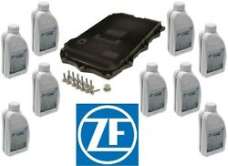 Zf Oem 8hp At Service Kit Oil Pan And Filter Kit Gasket Plugs 9l Fluid Atf For Bmw