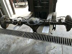 2014-2019 Gmc Sierra 1500 Rear Axle Assembly 5.3l 3.42 Ratio 9.5 Ring Abs/disc