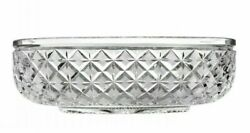 Waterford Crystal | 14 Lace Oval Bowl ✪new✪ 161684 Rare Kennedy Connolly Dish