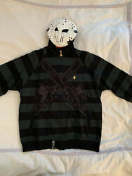Lrg Lifted Research Group Friday The 47th Zip Hoodie Jason Vorhees - Black L