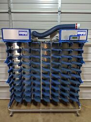 Innovive Innorack Ventilated Rodent Housing 70 Cage Rack System With Blowers