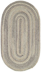 Capel Rugs Sherwood Forest Wool Braided Country Area Throw Rug Grey 300