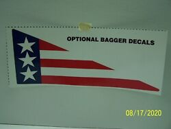 Lawn Boy Stars And Stripes Model 8250 Grass Bagger Chute Decal