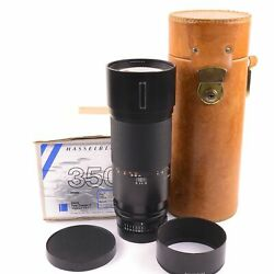 Carl Zeiss 350mm F4 Tele-tessar Fe For Hasselblad V System + Box 3020486 1356