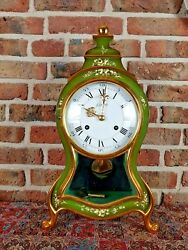 Luxury Swiss Made Le Castel Boulle Clock With Matching Console Big Size 1981