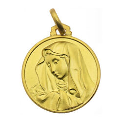 Our Lady Of Sorrows Gold Medal