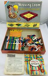 1959 Weaving Loom By Transogram In Very Good Condition Free Ship