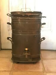 European Officers Cook Stove