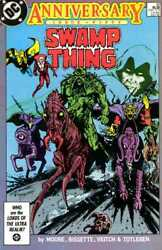 The Saga Of The Swamp Thing 50 1982 Gd Dc