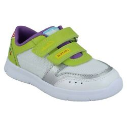 Boys Clarks Ath Howdy T Hook And Loop Infant Shoes Sports Toy Story Trainers Size