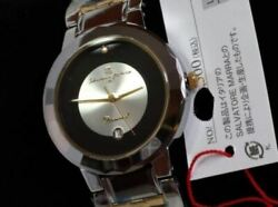 Rare Salvatore Marra K18 Diamond Watch Limited Model Shipped From Japan