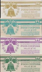 Food Stamp Coupon Book Collection
