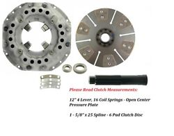 12 Clutch Kit Ford Tractor 5000, 5100, 5200, 5600, 5700, 6600, 6700