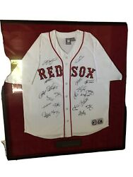 Boston Red Soxs 2007 World Series Championship Team Signed Jersey