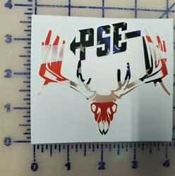 Pse Deer Hunting Archery American Flag Buck Bow Hunting Decal Sticker Outdoor