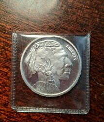 United States Indian And Buffalo Silver Round1 Ounce.999 Fine Silver