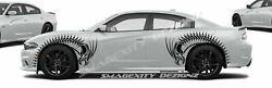 Tribal Serpent Dragon Custom Vinyl Decals Graphics Racing Stripes For Charger