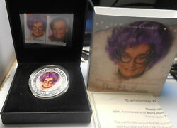 Australia 2006 Dame Edna Stamp And Coin Set Inc 1oz Silver One Dollar Proof Coin