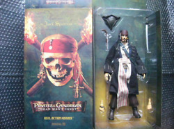 Medicom Toy Pirates Of The Carribean Dead Manand039s Chest 1/6 Jack Sparrow Figure