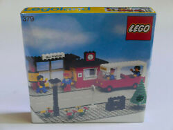 Lego System Town 379 Bus Station New Sealed Rare Vintage Misb Mint