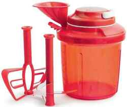 Tupperware Extra Chef Red With Pull Cord Manually Opereated No Electricity