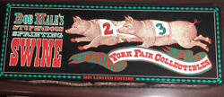 Bob Hales Stependous Sprinting Swine York Fair Collectibles Tractor Trailer Toy