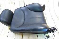 96-99 Mercedes W140 S600 S500 Front Right Seat Cushion Upper Pad Leather Frame