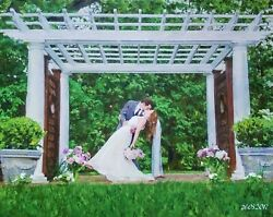 Custom Wedding Oil Portrait Painting From Photo, Anniversary Gift,art Commission