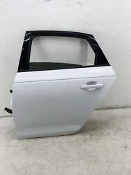 2017-2019 Audi A4 Left Rear Door Shell Ibis White Ly9c Oem 2018