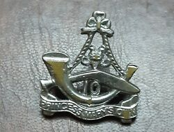 British India Uk Miltary Soldier Badge 10 Princes Mary Own 4x3.5cm