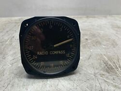 Vintage Military I-81-f Fairchild Aviation Us Army Radio Compass Ind Cool Old