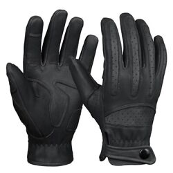 Motorcycle Leather Gloves Touch Screen Goat Skin Racing Motorbike Motocross