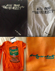Andy Warhol Campbell's Soup Can Sweatshirt, Are You Different Uniqlo Sweater