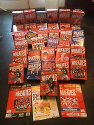 35 Empty/full Wheaties Collectible Cereal Boxes Payton Griffey Super Bowl Read