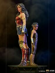Iron Studios 1/10 Dccw8433120-10 Ww84 Wonder Woman And Young Diana Statue