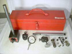 Starrett No. 659 Magnetic Base With No. 25-441 Dial Indicator - All Heavy Duty