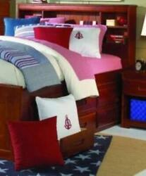 Elizabeth Full Size Captains Bed With Six Storage Drawers