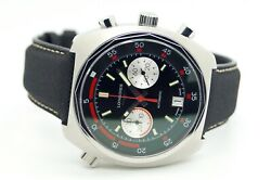 Longines Heritage Diver Chronograph L2.796.4.52.9 Menand039s Automatic Watch
