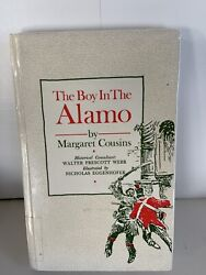 The Boy In The Alamo By Margaret Cousins Living History Books Rare Hardback