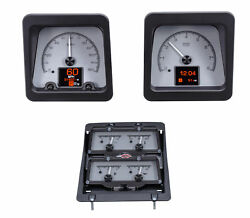 1969 Chevy Camaro W/console Gauges Hdx System Silver Face