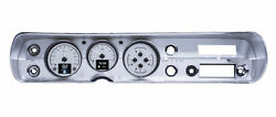 1964-65 Chevy Chevelle Hdx System Silver Face