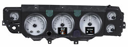 1970-72 Chevy Chevelle Ss Hdx System Silver Face
