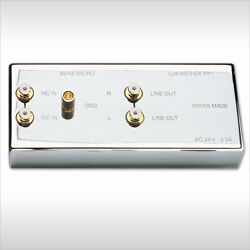 Benz Micro Lukascheck Pp1 Mc Transformer With Riaa Equalizer
