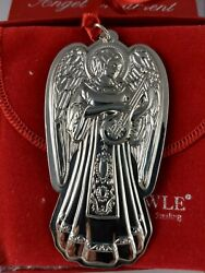 1991 Towle Sterling Silver Angel Christmas Ornament First In Series New Mint