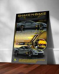 Automotive Show Boards Printed On Metal