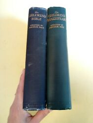 The Childrens Bible + The Children's Shakespeare Mee, A.  1930 C Illustrated