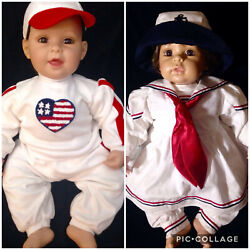 Adora Inc Collectable Dolls From Fine Doll Crafter All American Brother And Sister