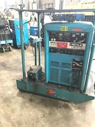 Lincoln Idealarc Tig-300/300 300 Amp Ac/dc Tig/stick Welder Power Source And Tank