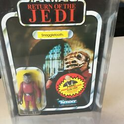 Star Wars Snaggletooth Vintage Return Of The Jedi, 77 Back Rotj Free Shipping
